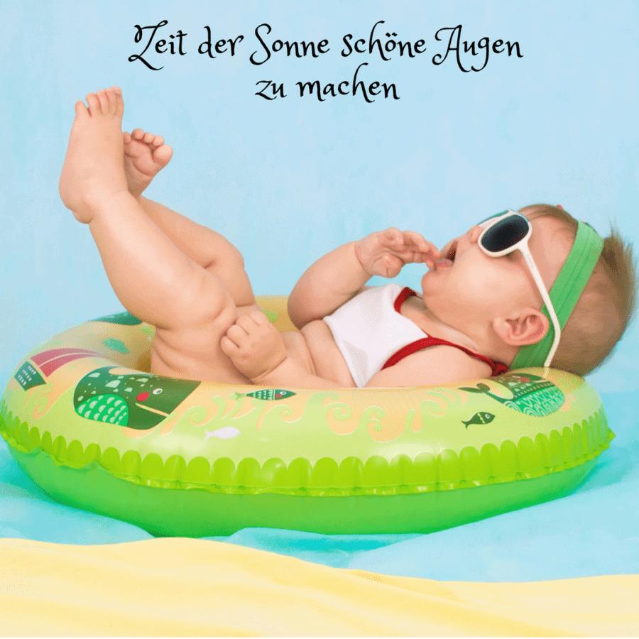 Sonnenschutz, Sonnenbrille, Sonne, Sommer, heiss, Schutz, Kind, am Wasser