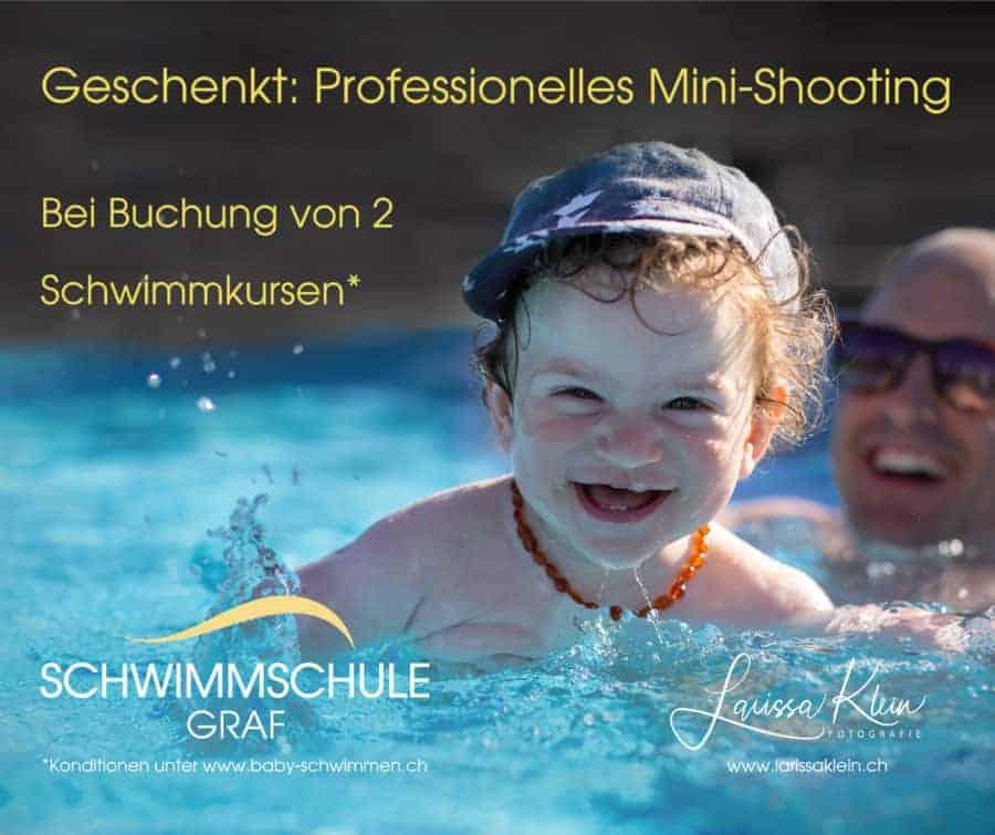 Kind im Wasser, Fotoshooting