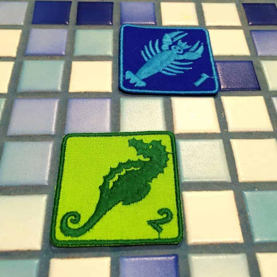 Schwimmabzeichen Krebs & Seepferdchen