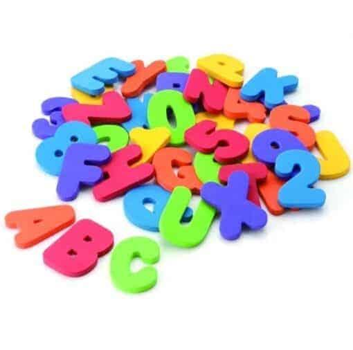 Buchstabenset / Zahlenset für Babys, Kleinkinder und Kinder