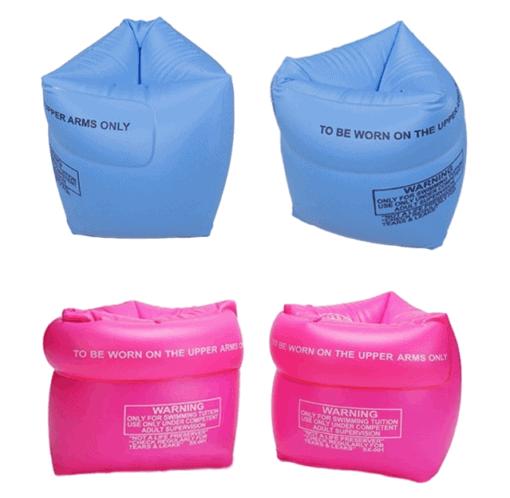 Schwimmflügeli für Kinder in der Farbe Pink, Blau und Orange