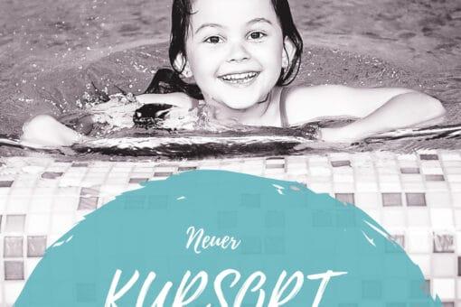 Kind im Wasser von der Schwimmschule Graf
