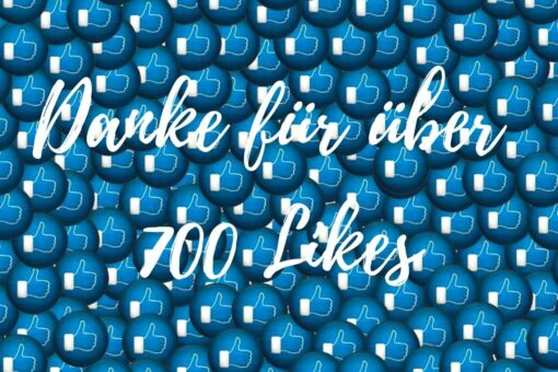 Danke für über 700 Likes