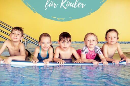 Kinder im Wasser, Schwimmschule Graf