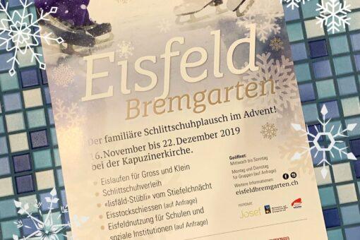 Schlittschuh, Eisfeld