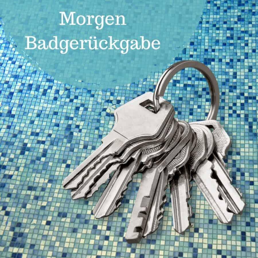 Schlüssel, Hallenbad