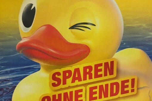 Ente - sparen ohne Ende!
