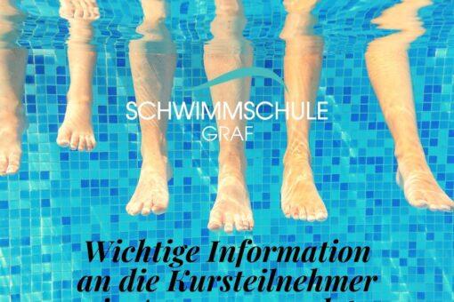 Informationen Babyschwimmen, Kinderschwimmen, Abzeichenkurs Aarau