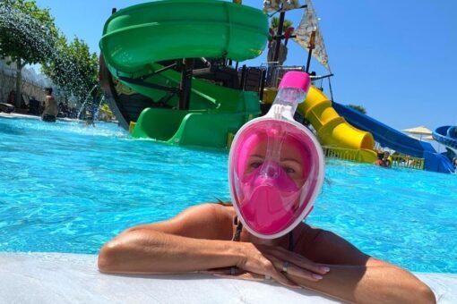 Schwimmen mit Maske