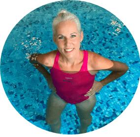 Schwimmlehrerin Melanie Eitel