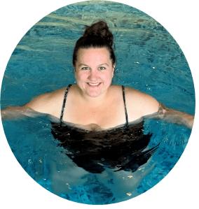 Schwimmlehrerin Yvonne Kaufmann