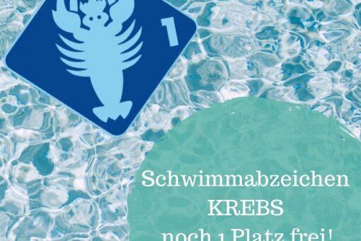 Schwimmabzeichen Krebs
