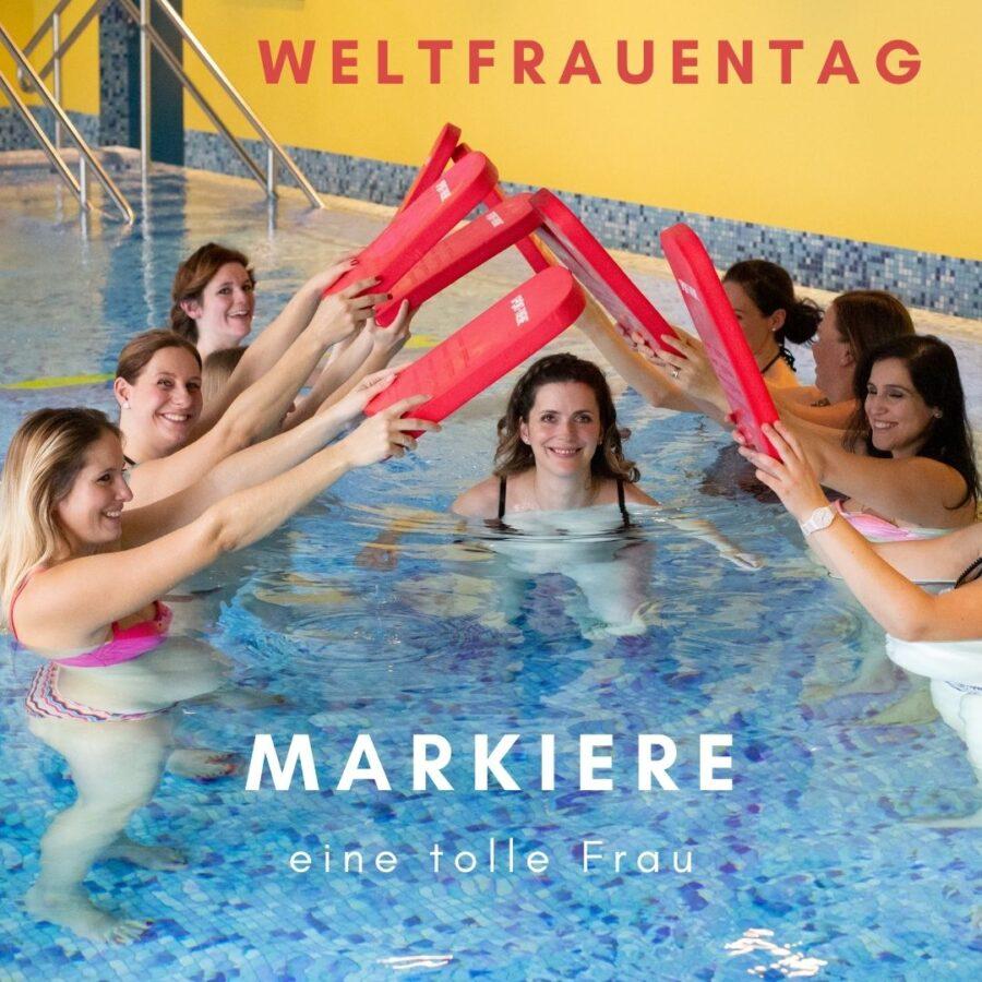 Frauen im Wasser - Schwimmschule Graf