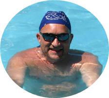 Schwimmlehrer Marcel Bott
