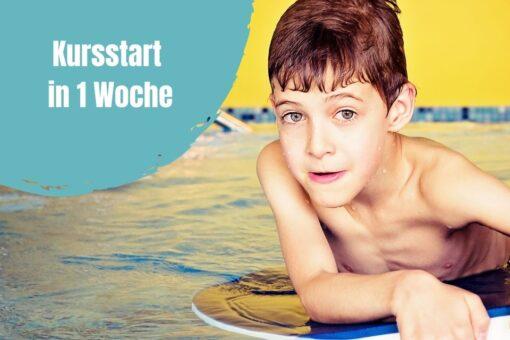 Kind bei der Schwimmschule Graf