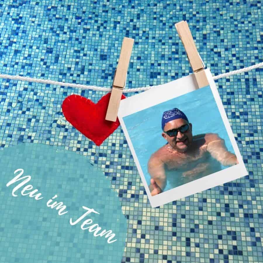 Neuer Schwimmlehrer